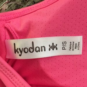 Kyodan Intimates & Sleepwear - Kyodan pink sports bra and lululemon headband.